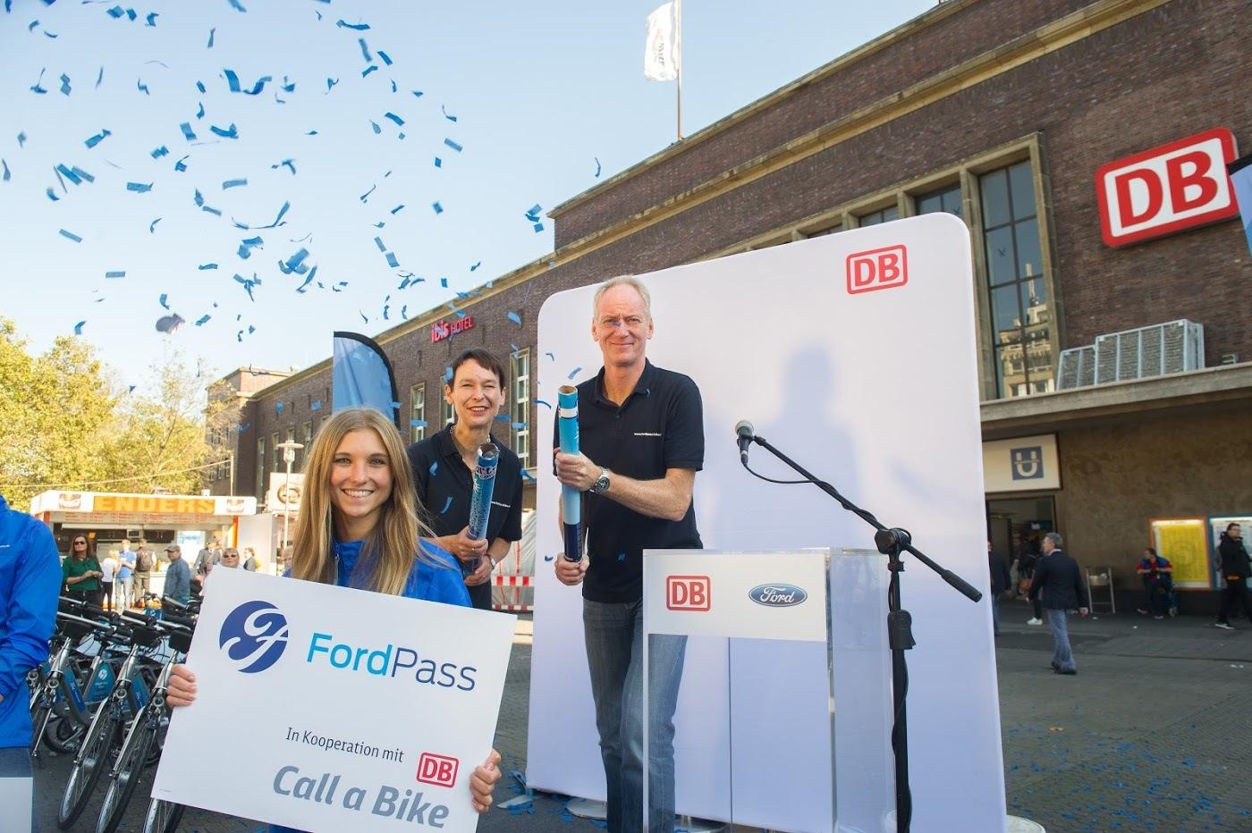 FordPass Bikesharing startet in Düsseldorf