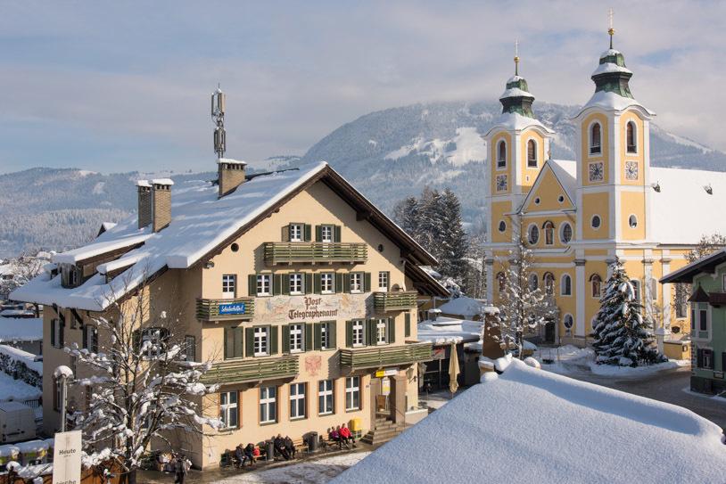 St. Johann in Tirol: Wo der Urlaub zu Hause ist