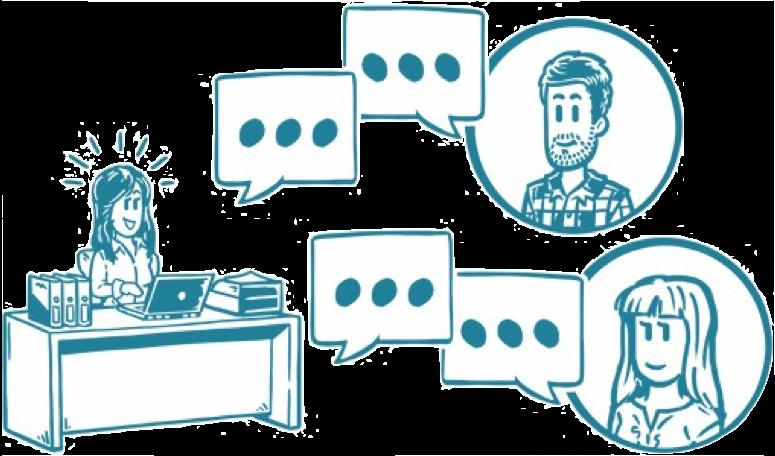 Dialog mit Bloggern