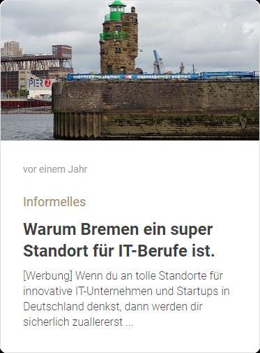 Warum Bremen ein super Standort für IT-Berufe ist
