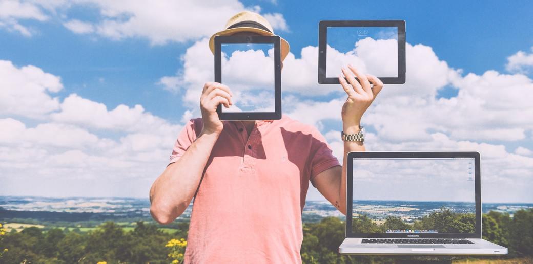 Die Weiterleitung zu Deinem Blog jetzt ohne Frame