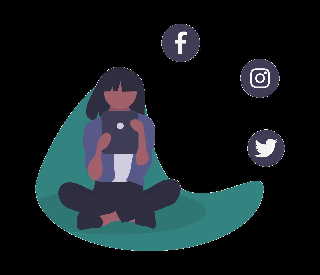 Social-Media-Aktivitäten als Signal