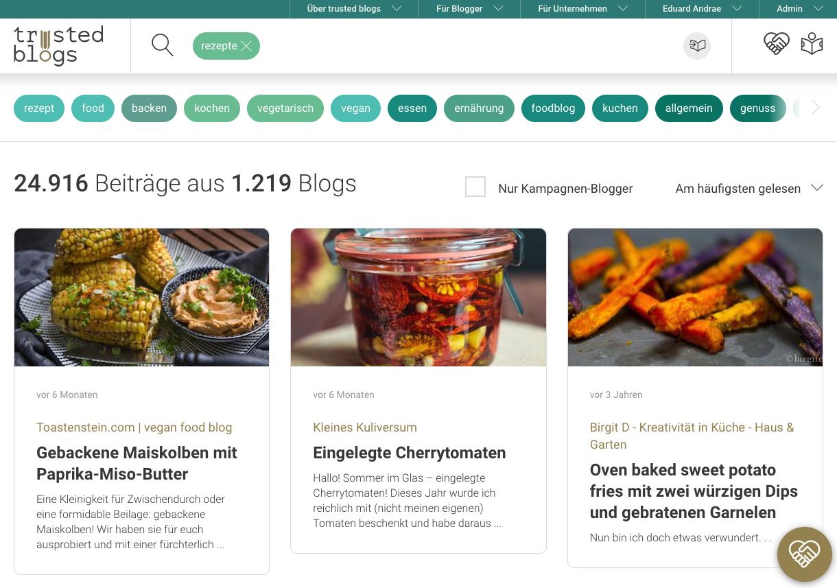 Blog-Suchmaschine