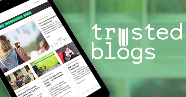 trusted blogs visual